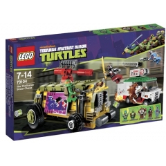 Lego Turtles 79104 De Shellraiser Straatrace